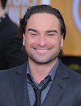Johnny Galecki at 19th Annual Screen Actors Guild Awards® at the Shrine Auditorium in Los Angeles, California on January 27,2013                                                                   Copyright 2013 Hollywood Press Agency