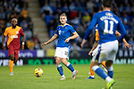 St Johnstone v Galatasaray…12.08.21  McDiarmid Park Europa League Qualifier<br />Ali McCann in action<br />Picture by Graeme Hart.<br />Copyright Perthshire Picture Agency<br />Tel: 01738 623350  Mobile: 07990 594431