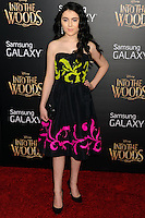 NEW YORK CITY, NY, USA - DECEMBER 08: Lilla Crawford arrives at the World Premiere Of Walt Disney Pictures' 'Into The Woods' held at the Ziegfeld Theatre on December 8, 2014 in New York City, New York, United States. (Photo by Celebrity Monitor)