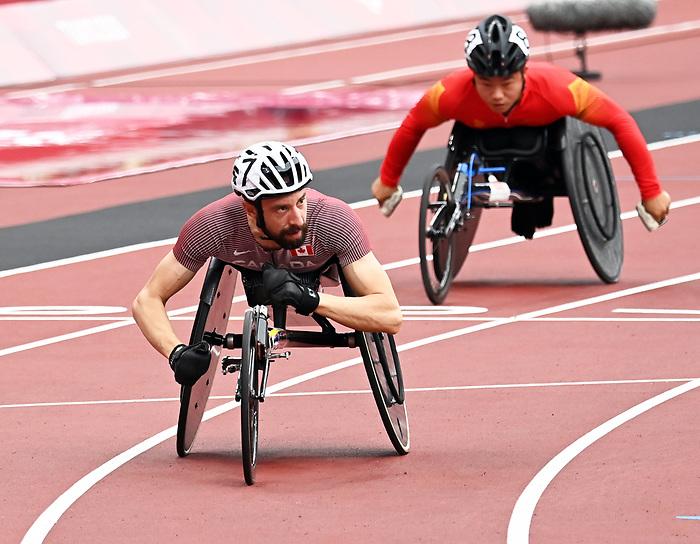Brent Lakatos, Tokyo 2020 - Para Athletics // Para-athlétisme.<br /> Brent Lakatos competes in Para Athletics // Brent Lakatos participe en Para-athlétisme. 08/31/2021.