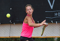 August 6, 2014, Netherlands, Rotterdam, TV Victoria, Tennis, National Junior Championships, NJK,  Donnaroza Gouvernante (NED)<br /> Photo: Tennisimages/Henk Koster