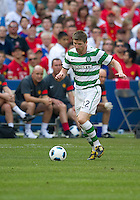 July 16, 2010 Mark Wilson No. 12 of Celtic FC during an international friendly between Manchester United and Celtic FC at the Rogers Centre in Toronto.