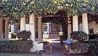 La Jolla Woman's Club, 715 Silverado, La Jolla. Irving Gill, Architect.Photo Oct. 1999.
