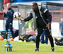 Caley assistant manager Russell Latapy.