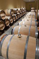 glass bung on barrel chateau d'yquem sauternes bordeaux france