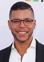 PASADENA, CA, USA - OCTOBER 10: Wilson Cruz arrives at the 2014 NCLR ALMA Awards held at the Pasadena Civic Auditorium on October 10, 2014 in Pasadena, California, United States. (Photo by Celebrity Monitor)