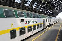 - Milano, Stazione Centrale, treno regionale Trenord<br /> <br /> - Milan, Central Station railway station, Trenord regional train