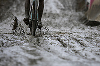 Riding the Mud<br /> <br /> elite men's race<br /> GP Sven Nys 2018