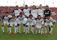 29 June 2013: Real Salt Lake starting eleven during an MLS game between Real Salt Lake and Toronto FC at BMO Field in Toronto, Ontario Canada.<br /> Real Salt Lake won 1-0.