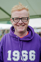 Friday 30 May 2014, Hay on Wye, UK<br /> Pictured: Chris Evans<br /> Re: The Hay Festival, Hay on Wye, Powys, Wales UK.