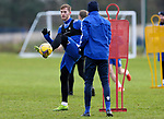 St Johnstone Training…. 09.12.20<br />Jamie McCart pictured with Murray Davidson during training ahead of Saturdays home game against Livingston.<br />Picture by Graeme Hart.<br />Copyright Perthshire Picture Agency<br />Tel: 01738 623350  Mobile: 07990 594431