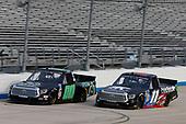 #00: J.J. Yeley, Reaume Brothers Racing, Toyota Tundra, #11: Spencer Davis, Spencer Davis Motorsports, Toyota Tundra