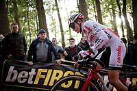 Ben Tullet (GBR/Corendon-Circus)<br /> <br /> Elite & U23 Mens Race<br /> 42nd Superprestige cyclocross Gavere 2019<br /> <br /> ©kramon