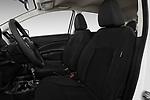 Front seat view of 2017 Nissan Versa-Note S-Plus 5 Door Hatchback Front Seat  car photos