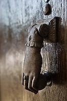 Europe/France/Aquitaine/24/Dordogne/Périgueux: Heurtoir de porte dans la vieille ville- rue du Plantier