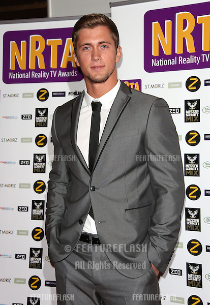 Dan Osborne at the NRTA - National Reality TV Awards 2013 held at the HMV Forum, London. 16/09/2013 Picture by: Henry Harris / Featureflash