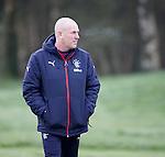 Mark Warburton at training