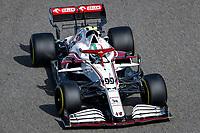 26th March 2021; Sakhir, Bahrain; F1 Grand Prix of Bahrain, Free Practice sessions;  99 GIOVINAZZI Antonio (ita), Alfa Romeo Racing ORLEN C41 during Formula 1 Gulf Air Bahrain Grand Prix 2021