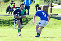 Saturday 10th October 2020 | Ballynahinch vs Queens<br /> <br /> Nacho Caldera during the Energia Community Series clash between Ballynahinch and Queens at Ballymacarn Park, Ballynahinch, County Down, Northern Ireland. Photo by John Dickson / Dicksondigital
