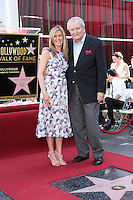 Jennifer Aniston and John Aniston.22/02/2012 Hollywood.Jennifer Aniston Honored with a Star on the Hollywood Walk of Fame on February 22, 2012 .Stella sulla Hollywood walk of fame per Jennyfer Aniston.Foto Insidefoto / Andrew Evans / PrPrhotos