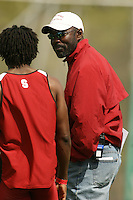 4 April 2007: Edrick Floreal during the Stanford Invitational at Cobb Track and Angell Field in Stanford, CA.
