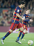 FC Barcelona's Luis Suarez during La Liga match. April 2,2016. (ALTERPHOTOS/Acero)