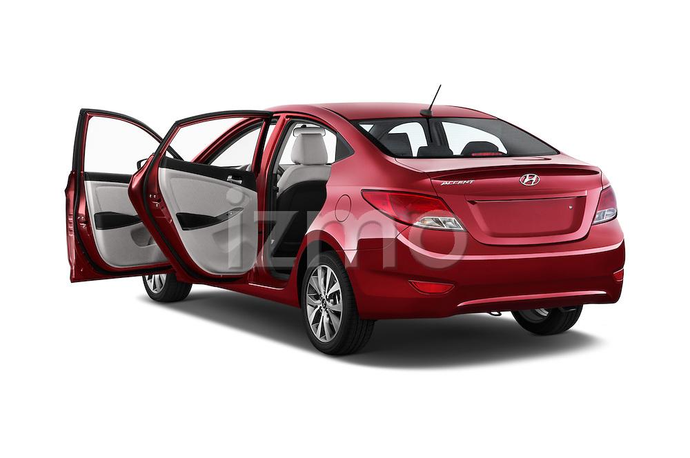 Car images of a 2015 Hyundai Accent GLS 4-Door 6-Speed Automatic 2 Door Sedan Doors