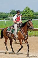 Colby Lavergne at Delaware Park on 6/15/13
