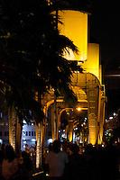 Estação das Docas a beira da baia do Guajará.<br /> Belém, Pará, Brasil.<br /> Foto Paulo Santos<br /> 15/12/2013