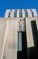 "St. Paul:  City Hall facade, 1931-32.  Holabird and Root; Ellerbe Architects.  ""Late Zig Zag Moderne"".  Photo '97."