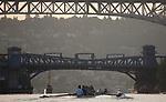 Seattle, Rowing, Lake Union Crew, Lake Washington Ship Canal, Lake Union, dawn rowing workout, masters eights, fours and quads, Aurora Bridge, Fremont Bridge, Queen Anne neighborhood, Fremont, neighborhood,