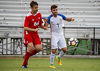 Lakewood Ranch, FL - Sunday July 23, 2017: Adam Ballou during an international friendly match between the paralympic national teams of the United States (USA) and Canada (CAN) at Premier Sports Campus at Lakewood Ranch.