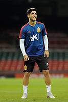 Spain's Marco Asensio during the pre-International Friendly training session of the Spain squad at the Principality Stadium, Cardiff, UK. Wednesday 10 October 2018