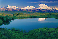 Mt. McKinley and Mt. Brooks<br />
