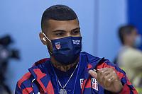 SAN SALVADOR, EL SALVADOR - SEPTEMBER 2: DeAndre Yedlin of the United States during a game between El Salvador and USMNT at Estadio Cuscatlán on September 2, 2021 in San Salvador, El Salvador.