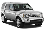 Front three quarter view of a 2010 Land Rover LR4