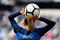 Harrison, NJ - Sunday March 04, 2018: Marion Torrent during a 2018 SheBelieves Cup match match between the women's national teams of the United States (USA) and France (FRA) at Red Bull Arena.