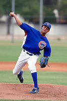 Juan Pena - AZL Cubs (2009 Arizona League).Photo by:  Bill Mitchell/Four Seam Images..