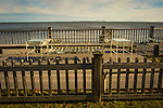 Ocean observation deck. Route 154. Saybrook, CT. Long Island Sound.