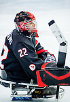 Benoit St-Amand, Sochi 2014 - Para Ice Hockey // Para-hockey sur glace.<br /> Team Canada takes on Norway in Para Ice Hockey // Équipe Canada affronte Norvège en para-hockey sur glace. 09/03/2014.