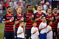 East Hartford, CT - Saturday July 01, 2017: USA  during an international friendly match between the men's national teams of the United States (USA) and Ghana (GHA) at Pratt & Whitney Stadium at Rentschler Field.
