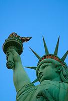 Statue of Liberty replic at at Las Vegas, Las Vegas, Clark County, N