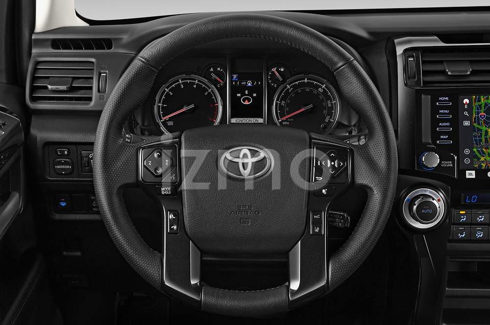 Car pictures of steering wheel view of a 2020 Toyota 4Runner TRD-Pro 5 Door SUV Steering Wheel