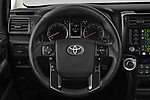 Car pictures of steering wheel view of a 2020 Toyota 4Runner TRD-Pro 5 Door SUV Steering Wheel