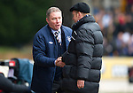 St Johnstone v Rangers...14.01.12  .Ally McCoist and Steve Lomas at full time.Picture by Graeme Hart..Copyright Perthshire Picture Agency.Tel: 01738 623350  Mobile: 07990 594431
