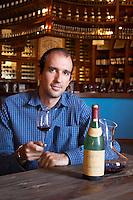 Vasilis Georgiou, oenologist winemaker. Boutari Wineries, Steinmachos, Naoussa, Macedonia, Greece