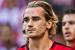 Antoine Griezmann of Atletico de Madrid looks on prior to the La Liga 2017-18 match between Atletico de Madrid and Sevilla FC at the Wanda Metropolitano on 23 September 2017 in Madrid, Spain. Photo by Diego Gonzalez / Power Sport Images