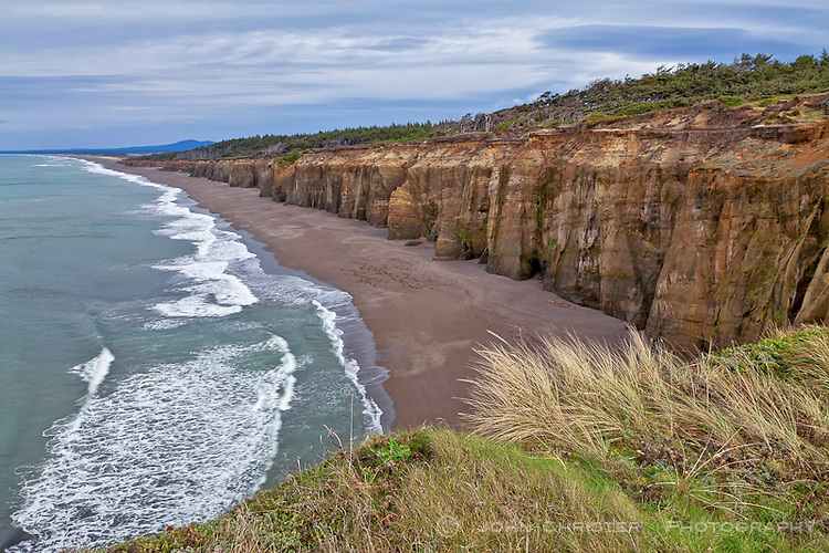 cliffs near Cape Blanco