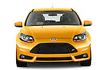 Straight front view of a 2013 Ford Focus ST Stock Photo