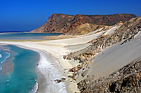 Praia Qalansiya na Ilha de Socotra. Yemen. 2008. Foto de Caio Vilela.